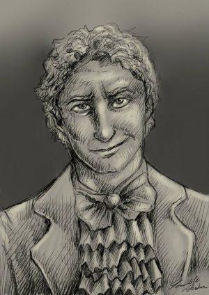 Disegnare o far disegnare il proprio personaggio è un altro ottimo modo per immaginarlo.
