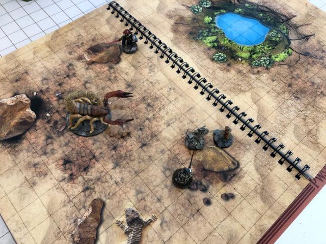 mappe riscrivibili combat book
