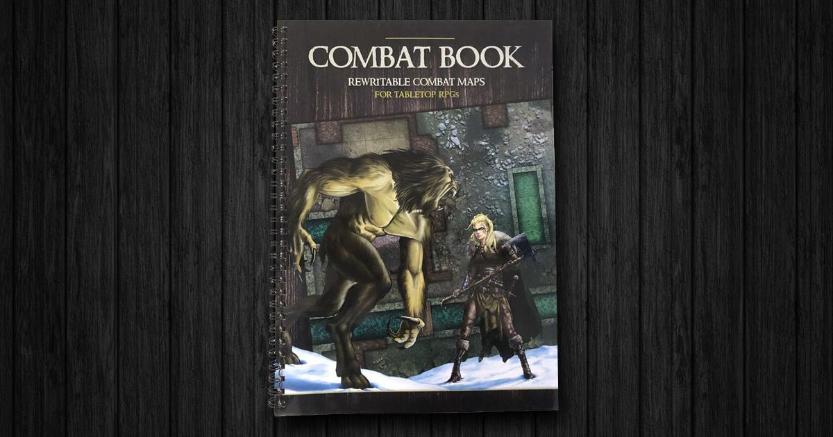 Combat Book - Copertina mappe riscrivibili