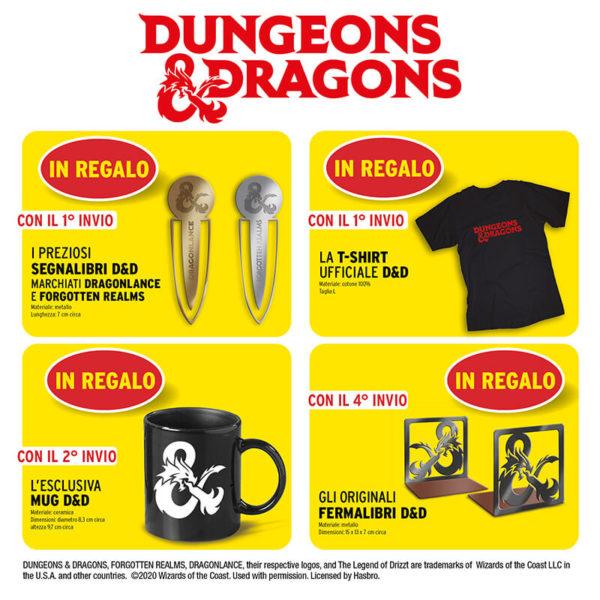 Libri Dungeons & Dragons regali