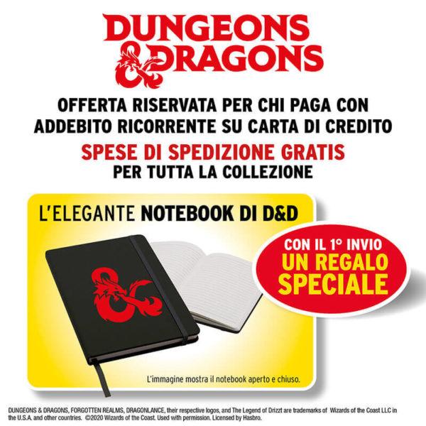 Libri Dungeons & Dragons regalo